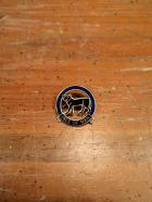 CIRCLE M CAT PIN BADGE