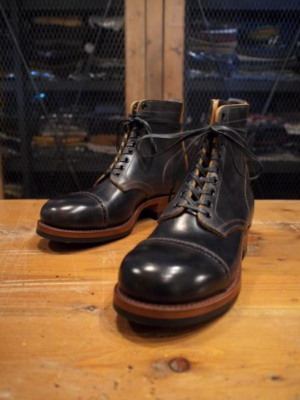 WR CAP-Toe Lace up Boots <LBT>