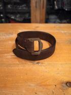 Double Buckle Leather Belt