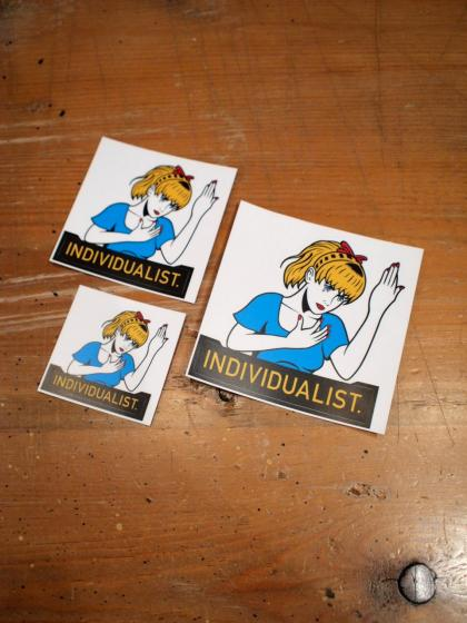 INDIVIDUALIST STICKER SET