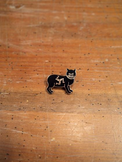 MANX CAT PIN BADGE