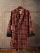 Wool Plaid Robe